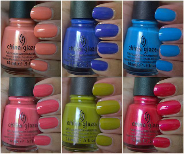 China Glaze Avant Garden Collection for Spring 2013 - part II