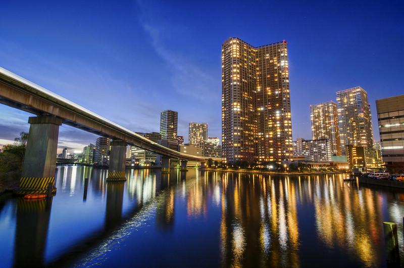 Reflecting on Bluelit Tokyo Bay