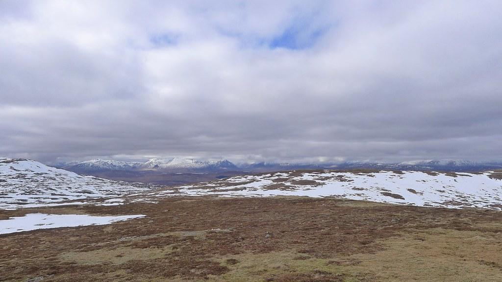 Glencoe across Rannoch Moor
