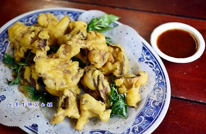 7 苗榜海芋園炸香菇