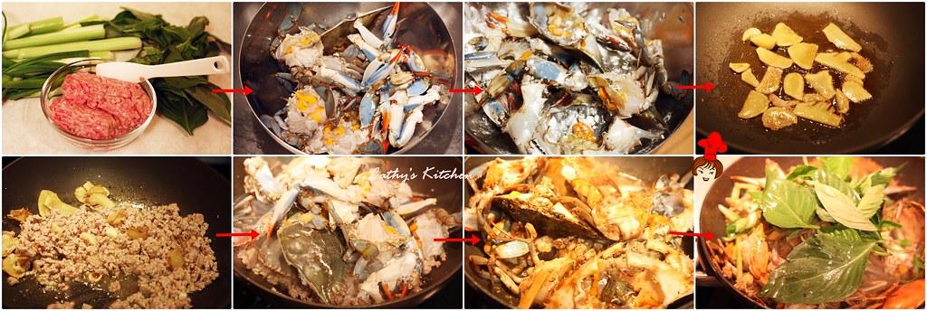 台式肉末快炒螃蟹 Crab with Minced Pork20.1