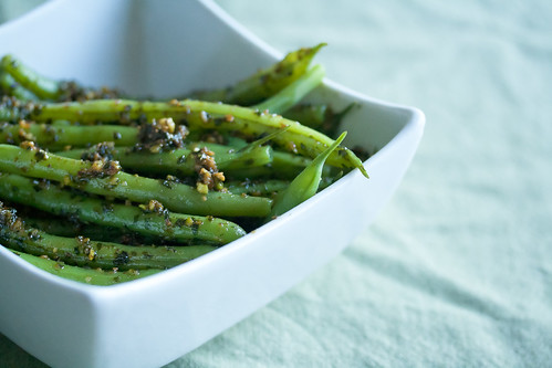 Green with Envy: Green Beans with Pistachio Pesto (and the new ...