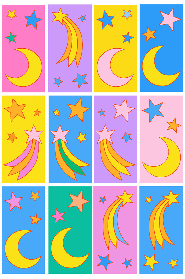 STARRY SKIES flag designs