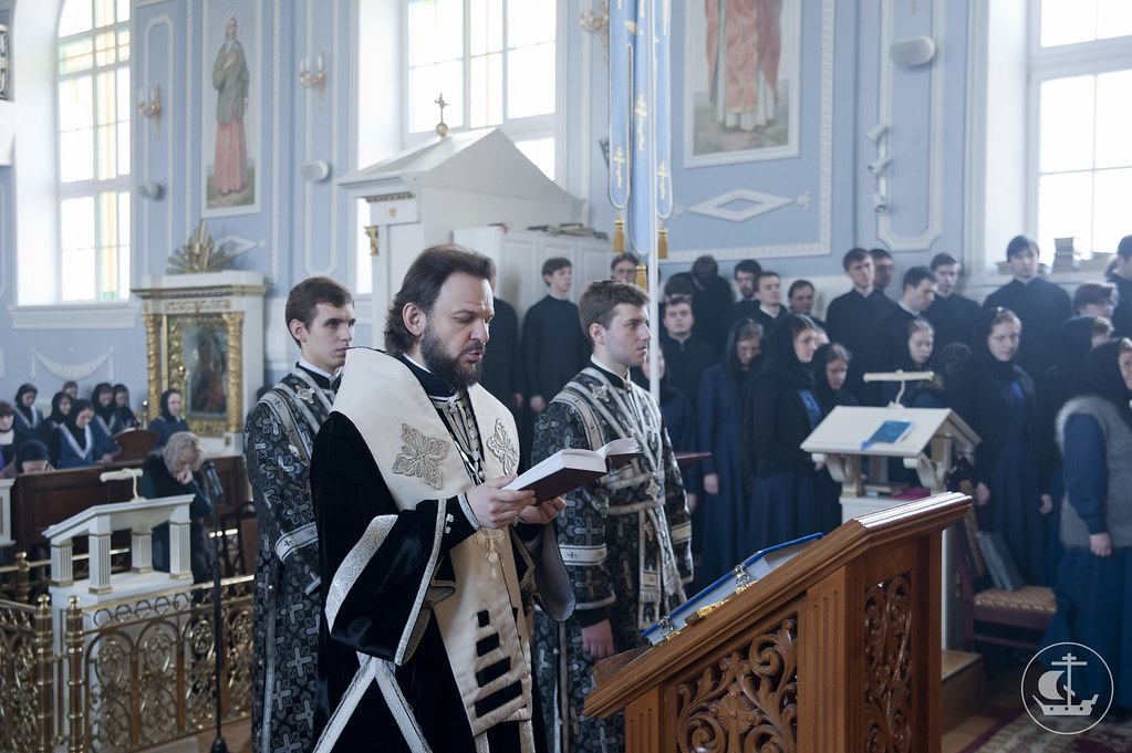 22 марта 2013, Литургия Преждеосвященных Даров в пятницу первой седмицы Великого Поста