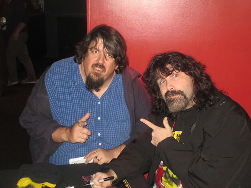 Me and Mick Foley - Bang Bang