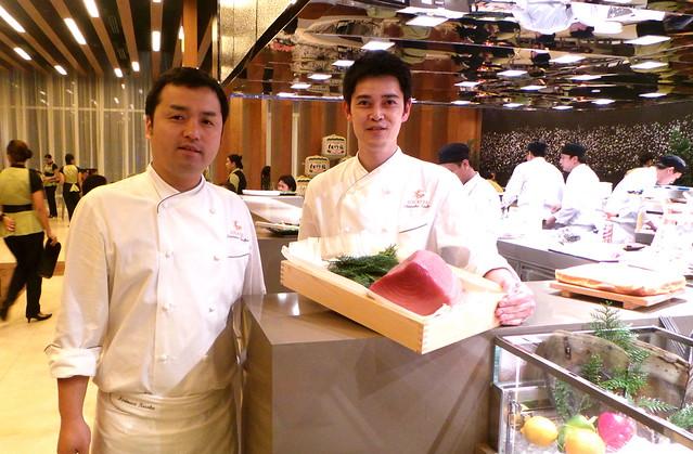 Japanese chefs