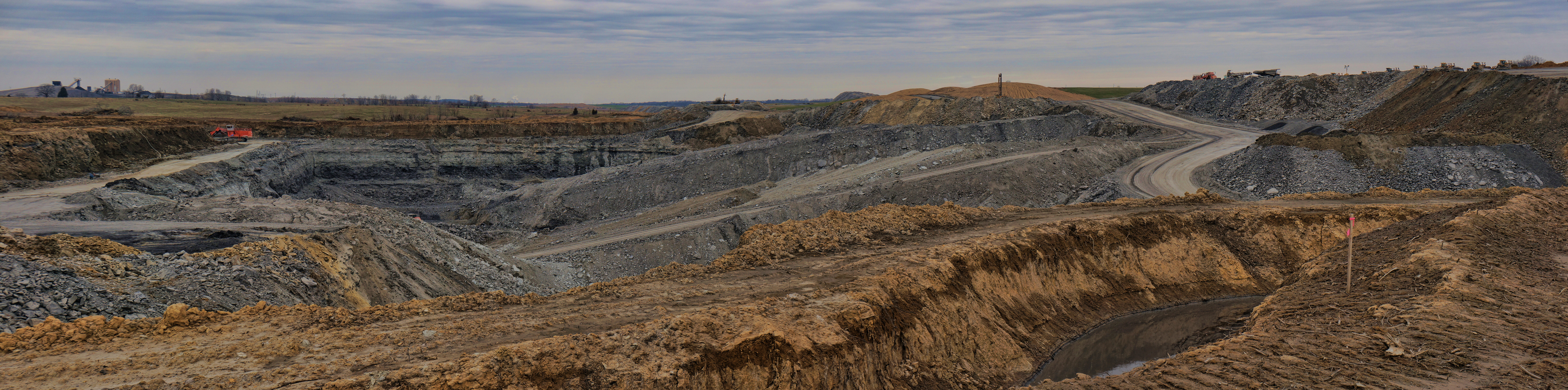 Indiana pike county stendal - Panorama Sony Mining Coal Hugin Nex6