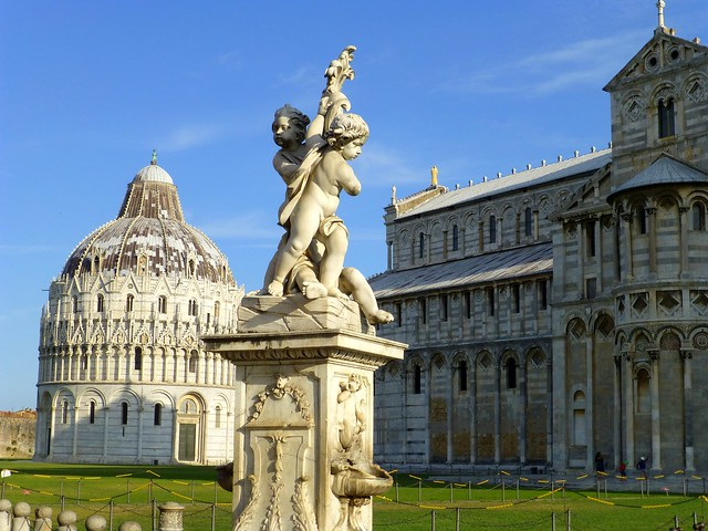 The cathedral of Pisa, Italy