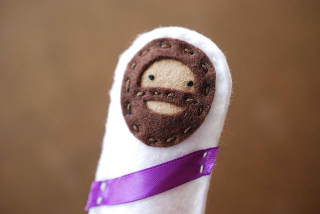 Jesus Finger Puppet