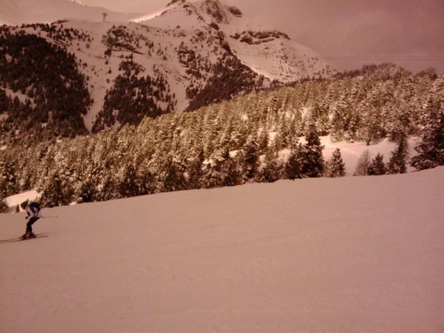 snowboard y ski en Andorra - La Massana - Vallnord