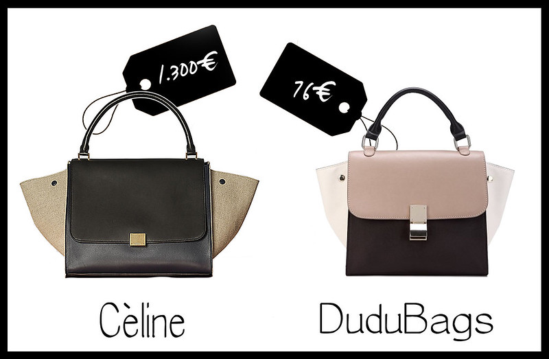 cheap and cool prezzi celine trapeze vs dudubags