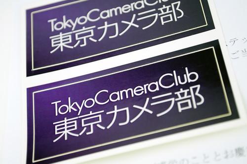 東京カメラ部ステッカー