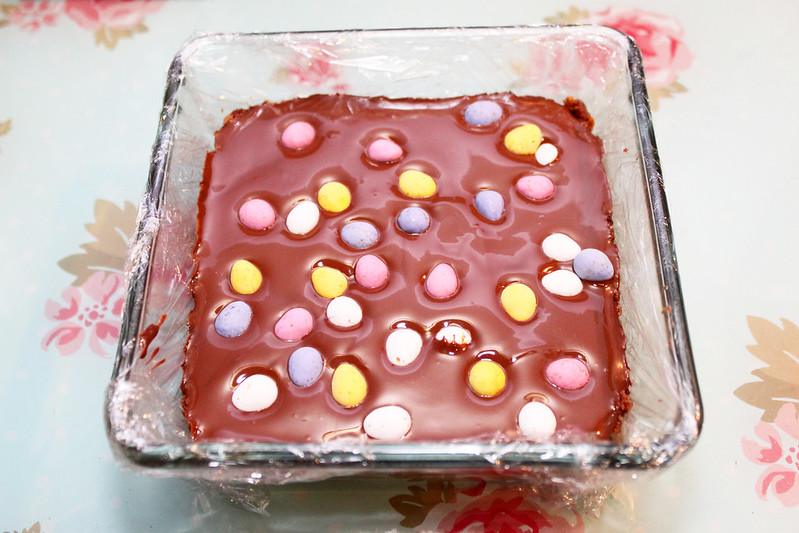 Easter Mini Egg Chocolate Tiffin