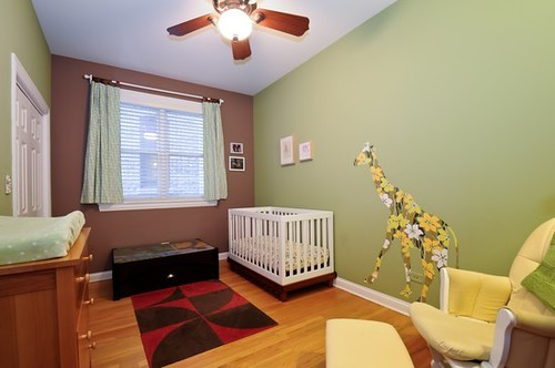 Nursery/upstairs bedroom/currently Waylon's room