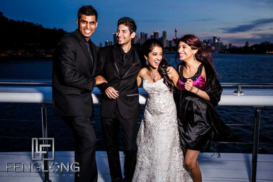 Sydney Indian Wedding at Circular Quay Harbor