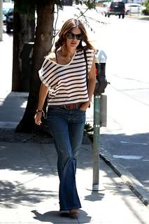 Rachel Bilson Flared Jeans Celebrity Style Women's Fashion