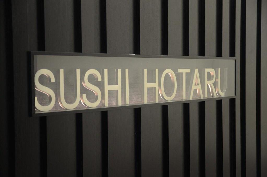 Sign - angle - Sushi Hotaru, Melbourne