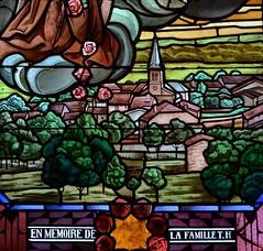 Détail d'un vitrail de l'église Saint-Barthélemy | Halles-sous-les-Côtes - Photo of Mont-devant-Sassey