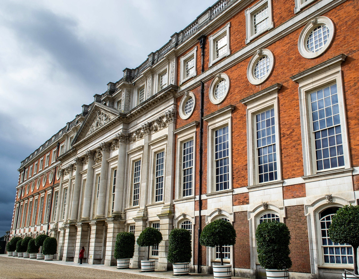 The East Front, Hampton Court Palace. Credit MrsEllacott
