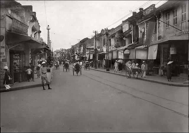 Hanoi ca. 1930s - Rue du Sucre - Phố Hàng Đường thập niên 1930
