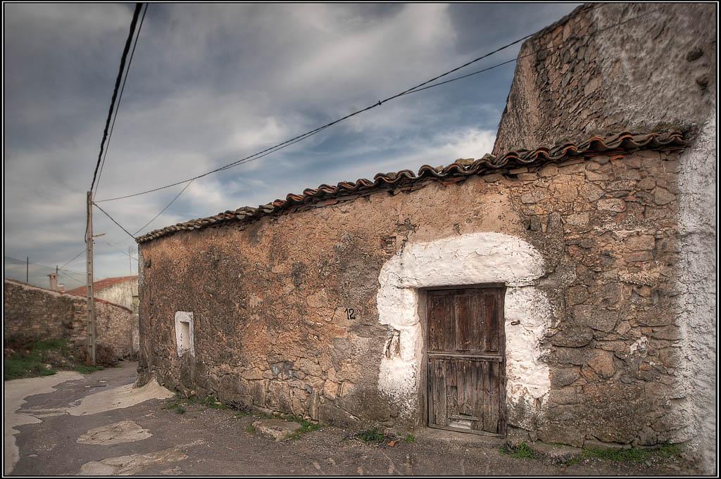 Puerta - La Alberguería de Argañán (Salamanca)