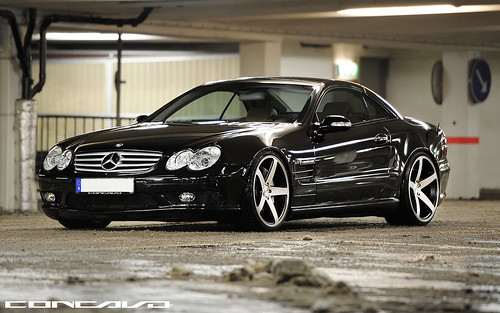 Mercedes SL55 AMG on CW-5