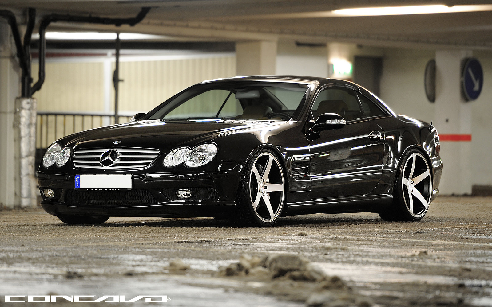 Mercedes Benz Sl55 Amg On Concavo Cw 5 We Re In Love