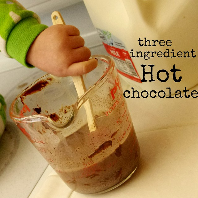 3 ingredient hot chocolate