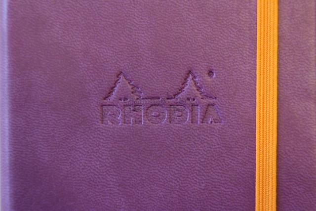 Rhodiarama - Purple - Rhodia Logo
