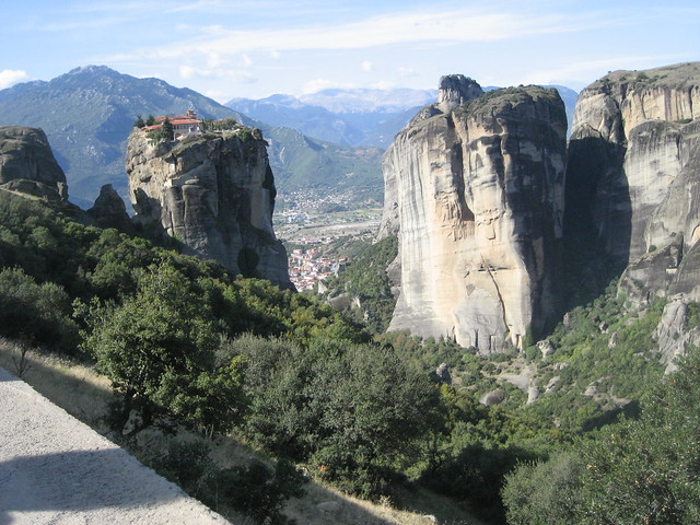 monasteries on Meteora crags