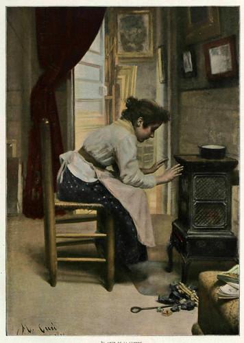 007-Al amor de la lumbre- Manuel Cusi- Album Salon 01-1903- Hemeroteca digital de la Biblioteca Nacional de España