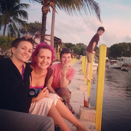@melimae79 @heathermattern and a photo bomber #keylargo #florida