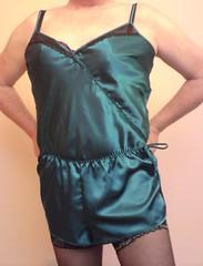 active undergarment(0.0), lingerie(0.0), maillot(0.0), cocktail dress(0.0), human body(0.0), swimwear(0.0), dress(0.0), lingerie top(1.0), textile(1.0), clothing(1.0), undergarment(1.0), abdomen(1.0), muscle(1.0), trunk(1.0), satin(1.0),