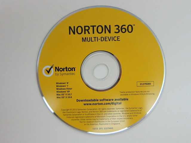 Norton 360 Multi-Device - Disc