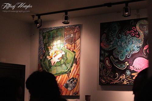 Jonestown Art and Music Exhibit - Saturday August 18th 2012 - 01