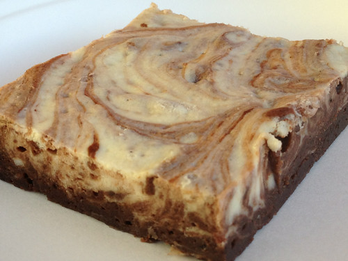 Peppermint Cheesecake Brownie
