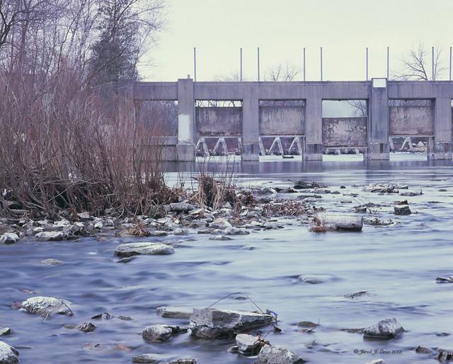 Estabrook dam milwaukee river flickr photo sharing for Milwaukee river fishing