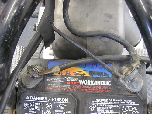 61 Bmw R75  5 Remove Wire Harness And Electrics
