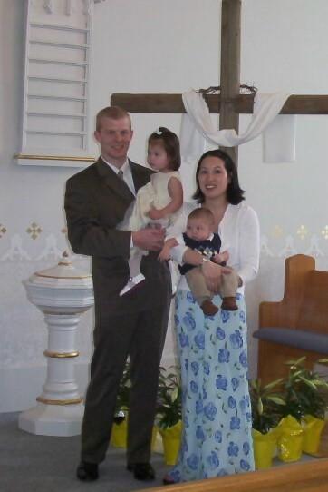 Easter Family