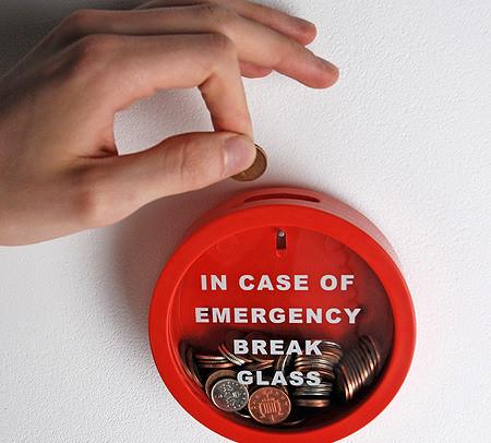 en caso de emergencia romper el vidrio