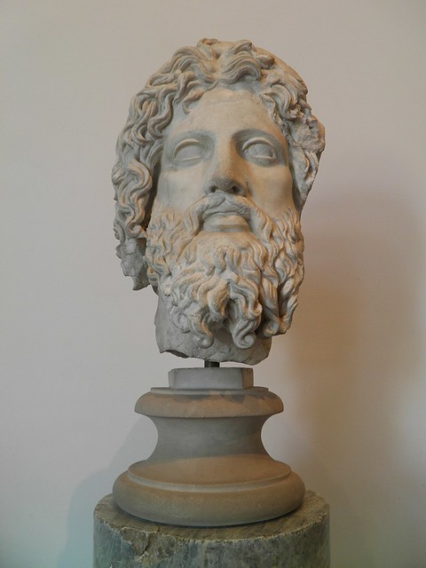 Asklepios, 2nd century Roman copy of 4 BC Greek original, Palatine Museum, Rome