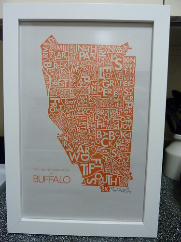 Buffalo Neighborhoods Print