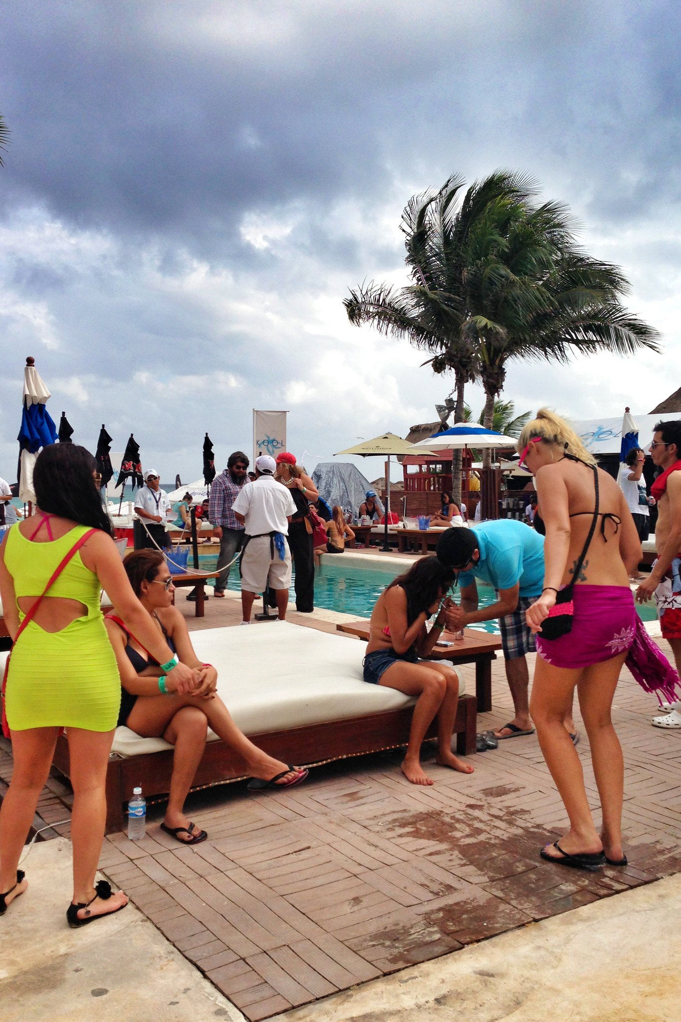 Kool Beach Club Playa Del Carmen Qr Mexico