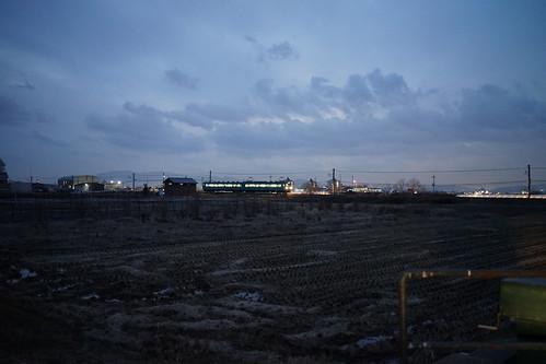 夜の桜井線