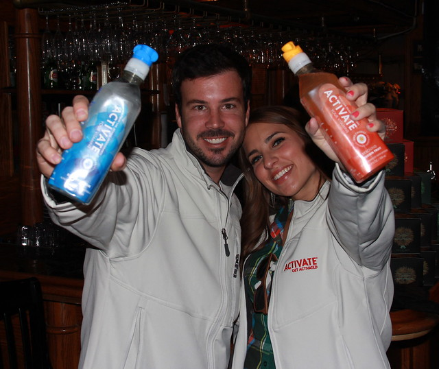 ACTIVATE Drinks, Naturally Sweetened with Stevia, Cameron Faist, Social Lodge Sundance 2013