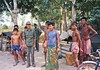 Government soldiers at frontline near Angkor Wat- Cambodia 1973 by loveexploring