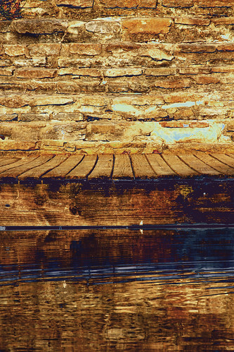 wood ohio brown lake water lines stone wall reflections dock shadows shine cincinnati forms sharonwoodslake thechallengefactory