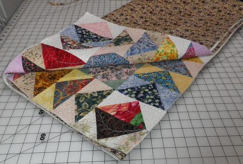 Trimmed and ready for binding
