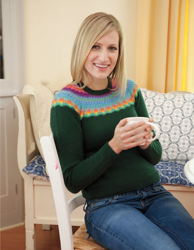 Tuva Pullover by KnitPicks