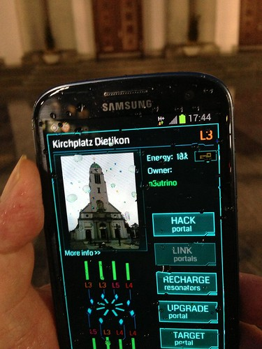 Ingress, Augmented Reality Game